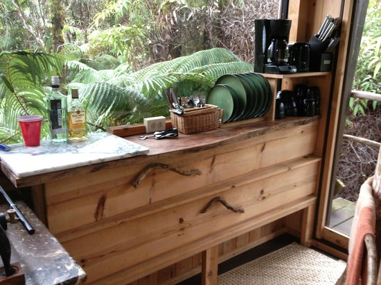 Treehouse Skye: Cool kitchen cabinets