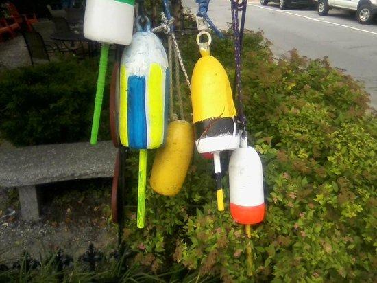 The Lobster Shack: Lobster buoys