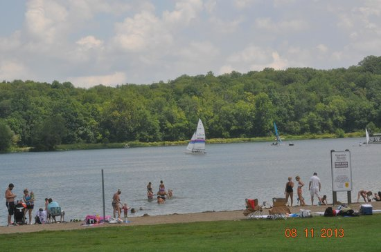 Hueston Woods Lodge and Conference Center: Sailing anyone ?