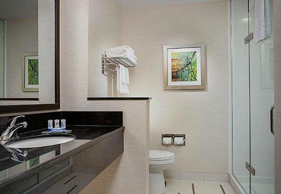 Fairfield Inn & Suites Sioux Falls Airport: Guest Bathroom