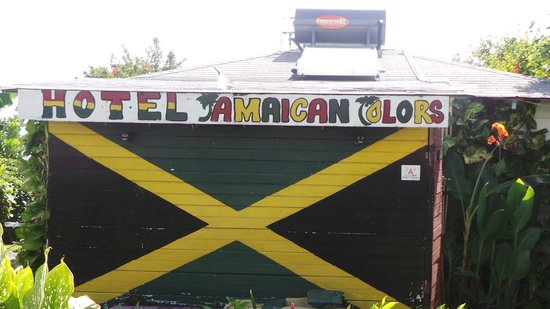 Hotel Jamaican Colors : The Welcome