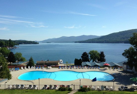 Fort William Henry Hotel and Conference Center : lake/pool view