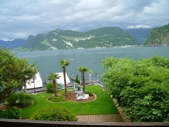 Pilatus Hotel: View from our Balcony