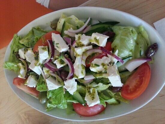 Salts Diner: greek salad