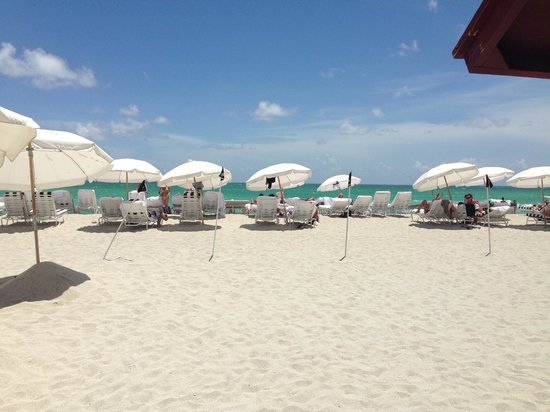 W South Beach: spiaggia privata
