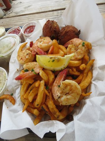 Timoti's Seafood Shack: Grilled Shrimp