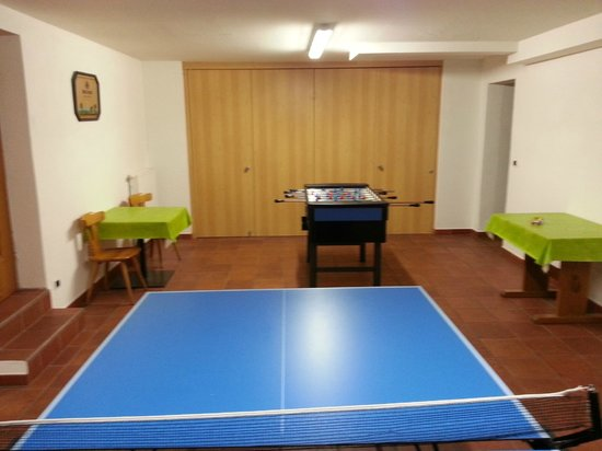 Hotel Lahnerhof: Sala Ping pong calcetto