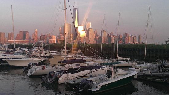 Michael Anthony's: One of the constantly changing views of the new WTC