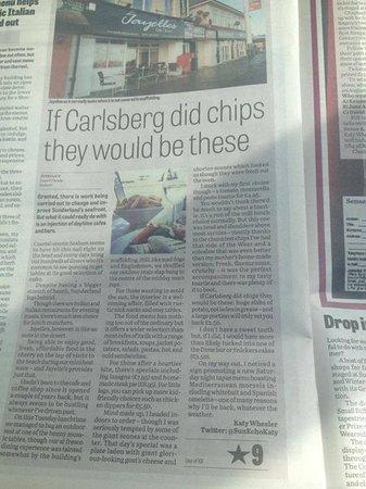 Jayelles: Sunderland Echo Review July 13