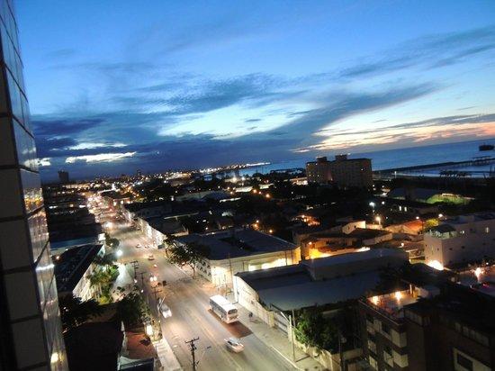 Iracema Travel Hotel: Vista do Apartamento - 9º andar