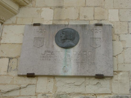 Forteresse royale de Chinon: Jeanne d'Arc