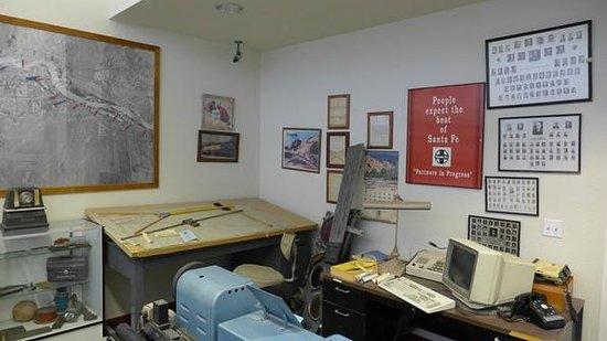 Western America Railroad Museum: Vista Interna / Inside View