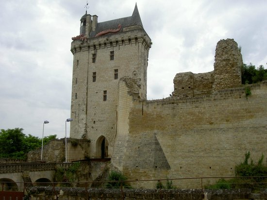 Forteresse royale de Chinon: Forteresse de Chinon