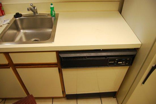 Sonesta ES Suites Somerset: the old kitchen
