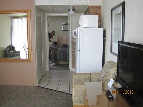 Horizon Motor Inn: 1st floor 1BR unit