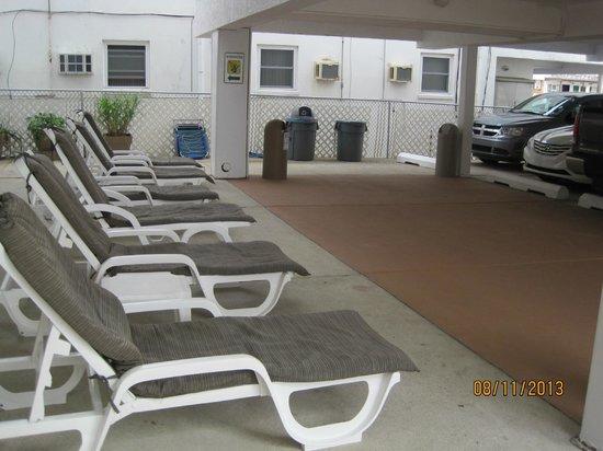 Horizon Motor Inn : Pool area