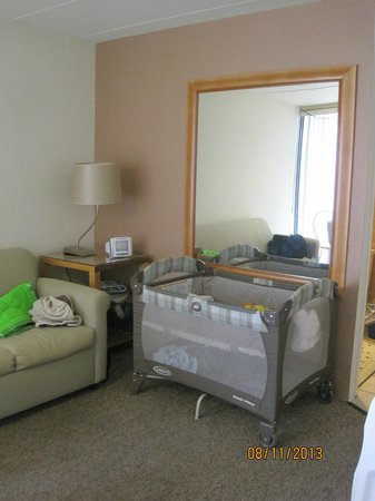 Horizon Motor Inn: 1st floor 1BR unit