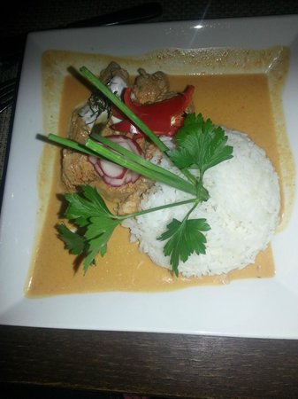 Blue Monkey: Red Curry - Beef