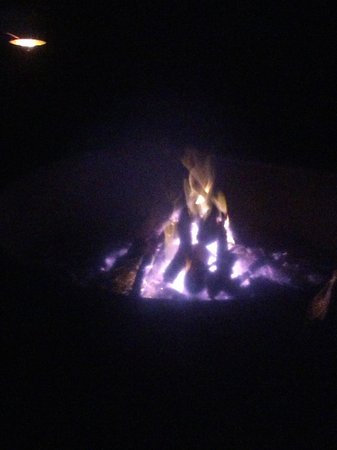 Fisheating Creek Campground : our campfire