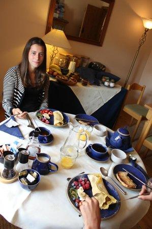 Ruthven Steadings: Pancakes for breakfast
