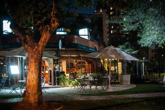 Manquehue Santiago Las Condes: Dinning room