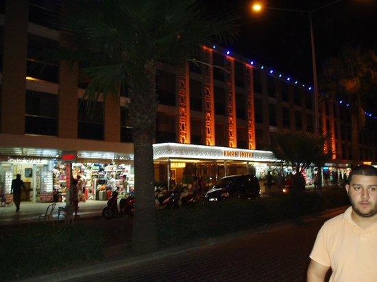 Hotel Emre: Across the street