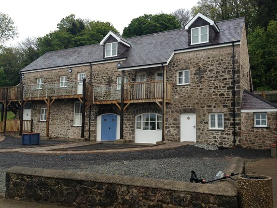 Trefloyne Manor: The Coach House - Room 3 is ground floor, far right.