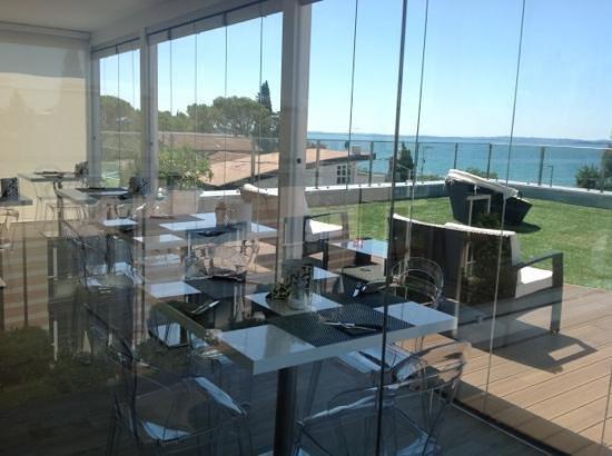 Hotel Villa Katy: terrazza colazione