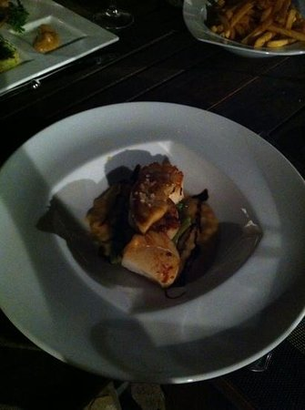 Restaurant TOC DE SOL: Coquilles; mjammie!