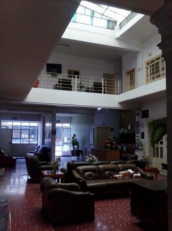Hotel Maser: the lobby.
