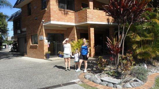 Noosa Yallambee Holiday Apartments: Entrance to the Yallambee Appartments