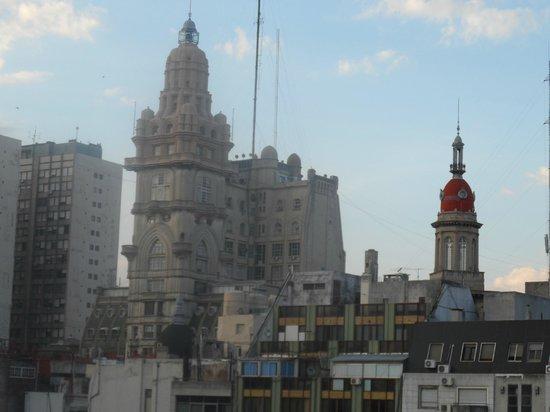 Duomi Plaza Hotel: Vista do Ap
