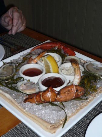 Brewster Fish House: Seafood Platter Appetizer