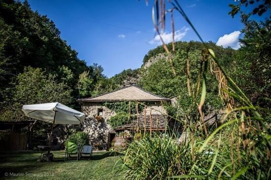 """Castiglione Dei Pepoli, Itália: Giardino """"relax"""""""