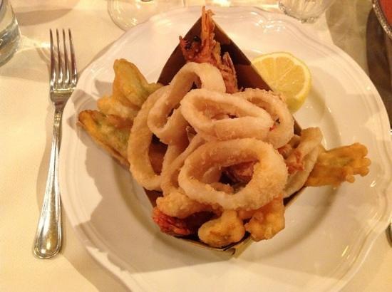 La Maremma : calamars - crevettes