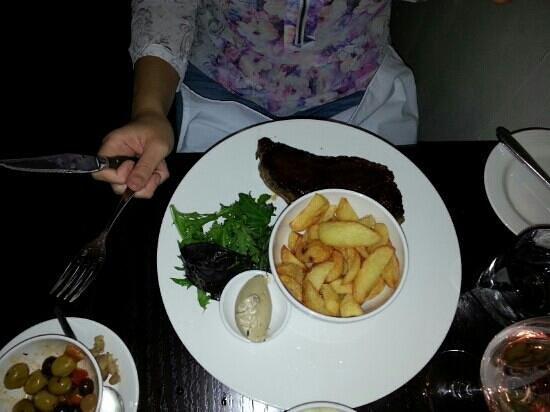 Shu Restaurant : lovely sirloin steak