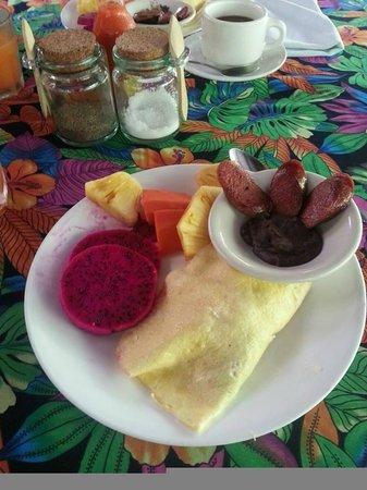 Maya Mountain Lodge: Breakfast