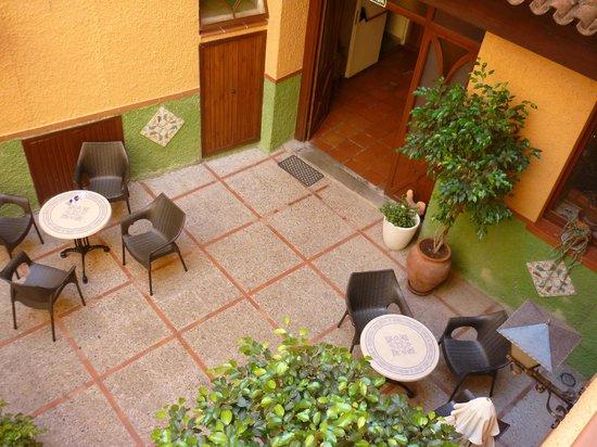 Hostal Loreto: View from bedroom