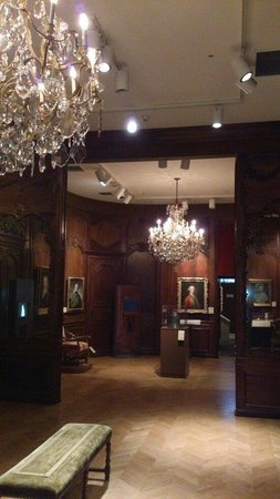 Chateau Ramezay Historic Site and Museum of Montreal: Main hall - New France - the conquest