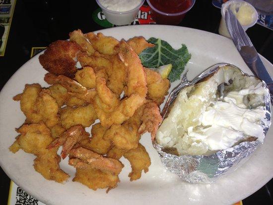 Chuck's Restaurant: Fantastic Shrimp