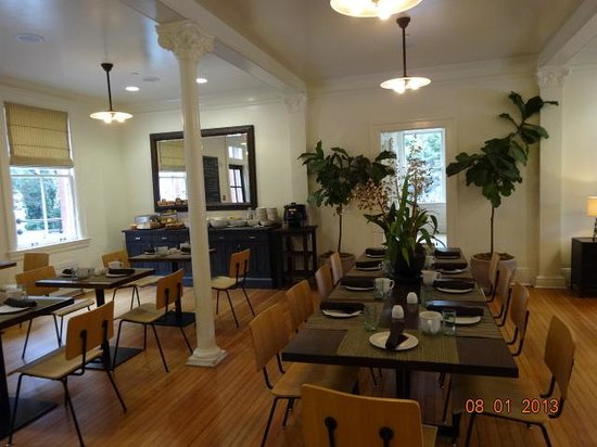Inn at the Presidio : dinning room