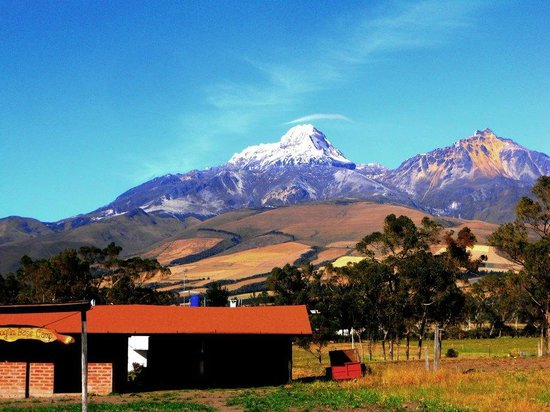 Chuquiragua Lodge & Spa: Al despertar esto sera la primero que veas ... los Illinizas