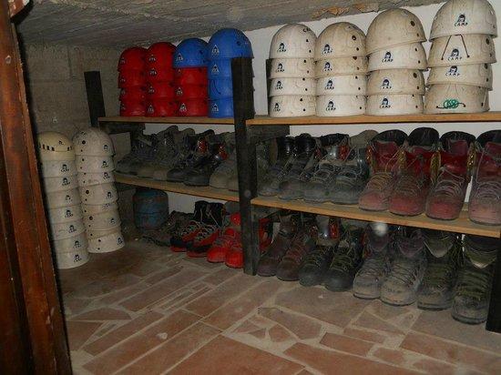 Chuquiragua Lodge & Spa: El equipo que ofrece el lodge ya ofrece tour de Climbing & Trekking