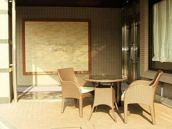 Hotel Area One Hakata: entrance