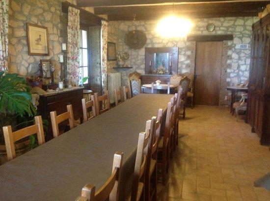 Poggio della Volara: Dining Room--Family style