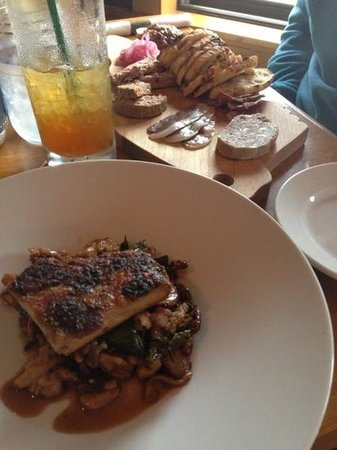 Liquids and Solids at the handlebar: pork belly and charcuterie