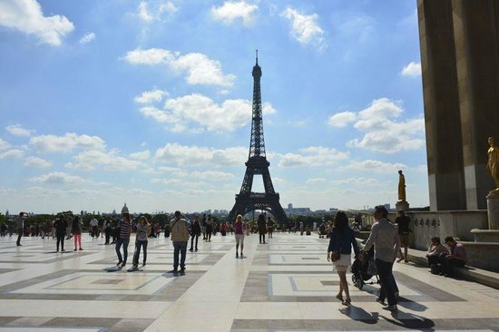 Plaza Tour Eiffel: Eiffel Tower <15 minute walk
