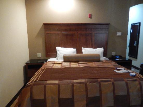 BEST WESTERN PREMIER KC Speedway Inn & Suites: View of bed