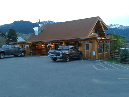 Cowboy Lodge and Grill: Cowboy Grill Exterior shot