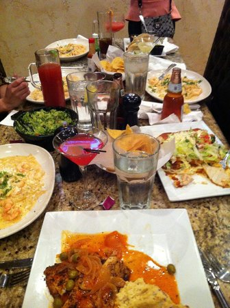Plaza Azteca: Some of our dishes